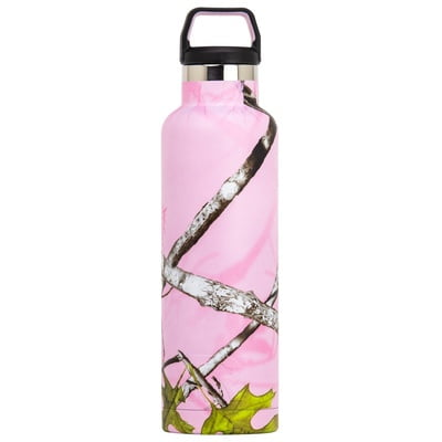 Water Bottle 20 oz. Pink Camo - 1202