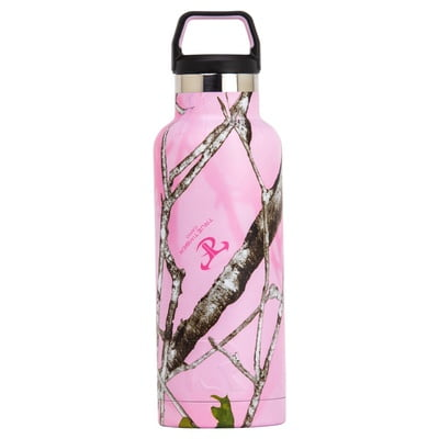 Water Bottle 16 oz. Pink Camo - 1200