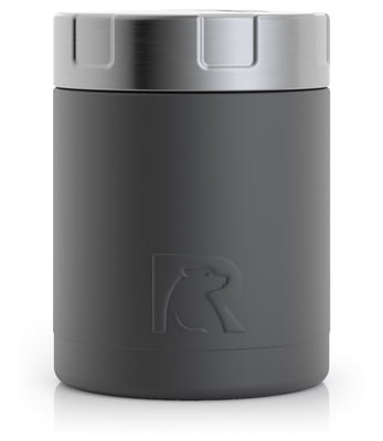 Food Canister 12 oz. Charcoal Matte - 1423